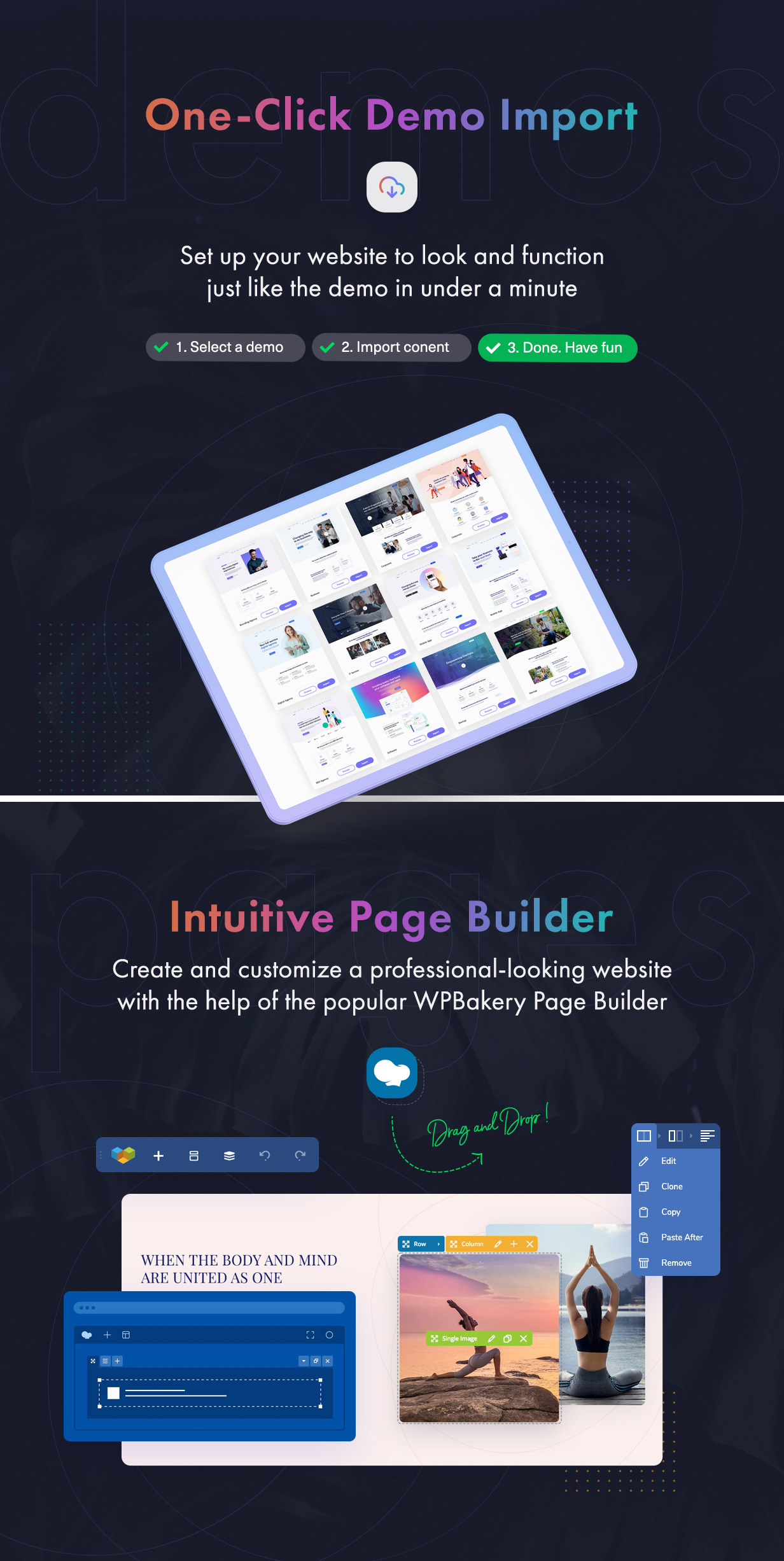 Sway - Multi-Purpose WordPress Theme with Page Builder - 5