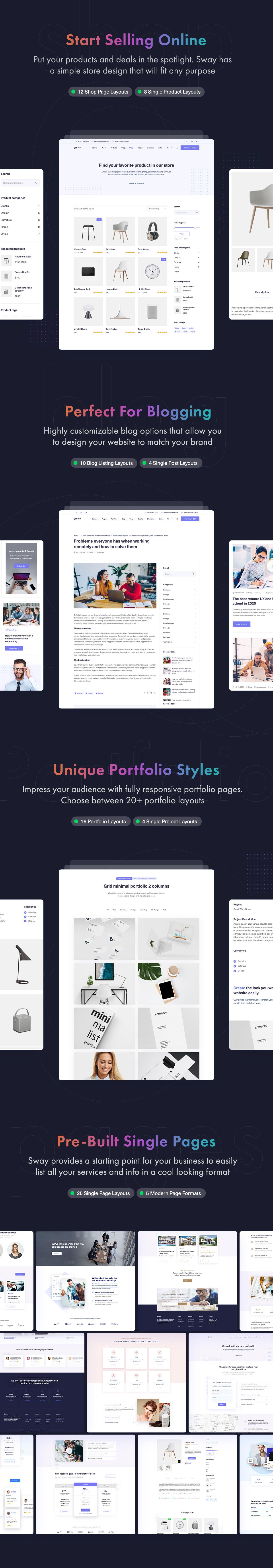 Sway - Multi-Purpose WordPress Theme with Page Builder - 10